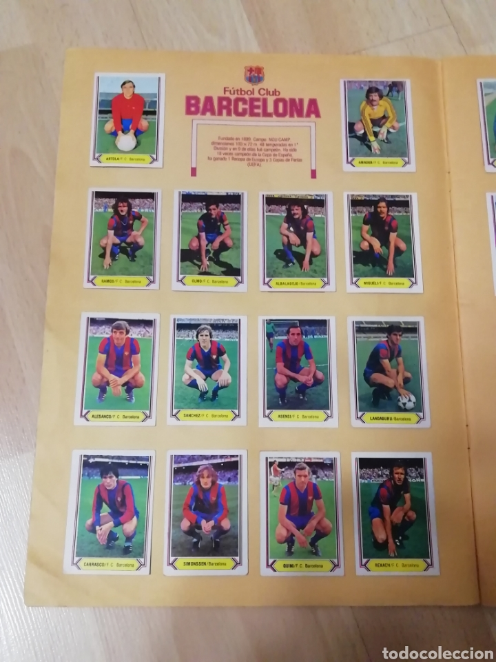 Álbum de fútbol completo: Album liga este 80 /81.. Completo+ 60 Dobles.... - Foto 4 - 169791706