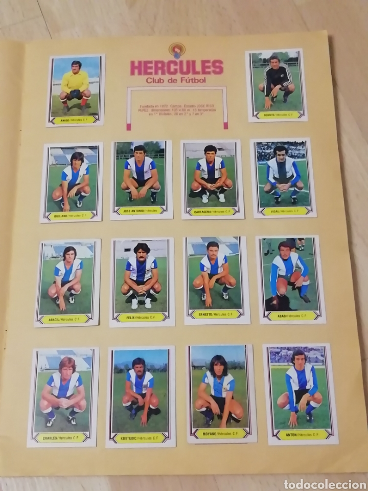 Álbum de fútbol completo: Album liga este 80 /81.. Completo+ 60 Dobles.... - Foto 9 - 169791706
