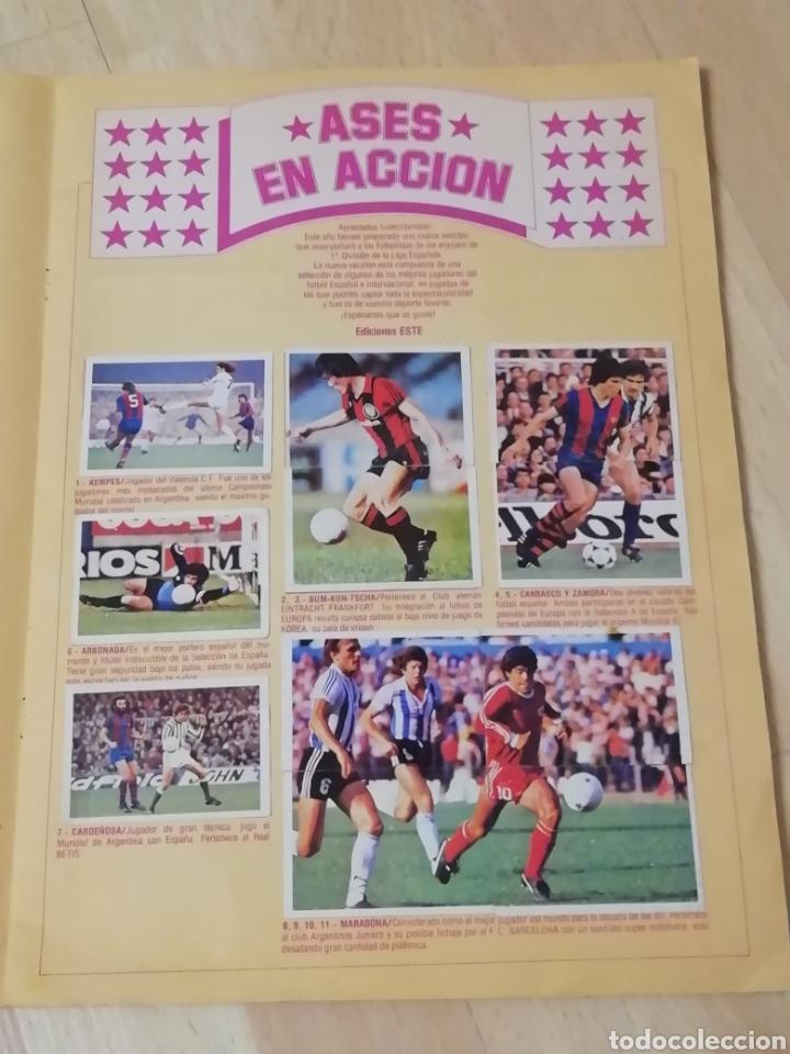 Álbum de fútbol completo: Album liga este 80 /81.. Completo+ 60 Dobles.... - Foto 13 - 169791706