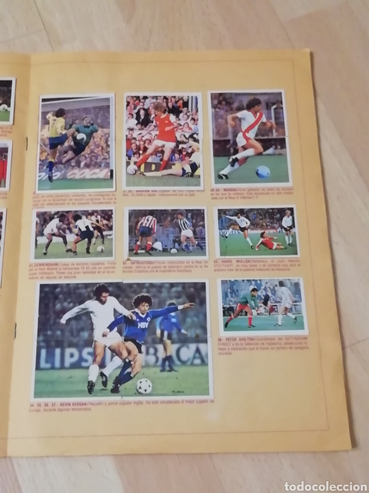 Álbum de fútbol completo: Album liga este 80 /81.. Completo+ 60 Dobles.... - Foto 15 - 169791706