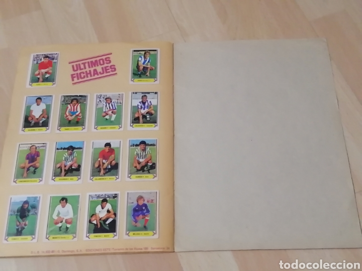 Álbum de fútbol completo: Album liga este 80 /81.. Completo+ 60 Dobles.... - Foto 27 - 169791706