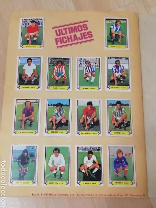 Álbum de fútbol completo: Album liga este 80 /81.. Completo+ 60 Dobles.... - Foto 26 - 169791706
