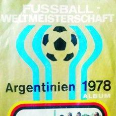 Álbum de fútbol completo: ALBUM DE CROMOS CAMPEONATO MUNDIAL DE FUTBOL ARGENTINA 78 -EDIT. EN ALEMANIA CON 502 CROMOS.COMPLETO. Lote 170213072