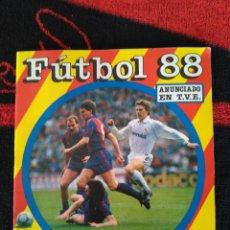 Álbum de fútbol completo: ÁLBUM COMPLETO DE CROMOS FÚTBOL 88. PANINI.. EXCELENTE.. Lote 170282889