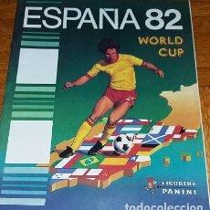 Álbum de fútbol completo: CURIOSO Y RARO ALBUM DE CROMOS MUNDIAL ESPAÑA 1982 CROMOS IMPRESOS. Lote 170301740