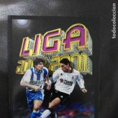 Álbum de fútbol completo: ALBUM FACSIMIL LIGA ESTE PANINI 2000 2001 COMO NUEVO .SALVAT. Lote 170566708