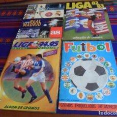 Álbum de fútbol completo: FÚTBOL MAGA 75 1975, ESTE LIGA 1994 95 1994 1995 COMPLETO, ESTE LIGA 82 83 INCOMPLETO. CON REGALO.. Lote 170864080