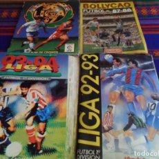 Álbum de fútbol completo: ESTE LIGA COMPLETO 93 94 1993 1994, 96 97 1996 1997 COMPLETO 1992 92 93 INCOMPLETO. REGALO BOLLYCAO.. Lote 170868870