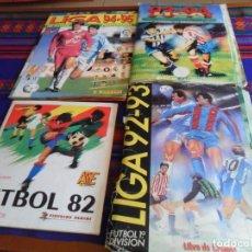 Álbum de fútbol completo: ESTE LIGA 1993 1994 93 94 PANINI 94 95 COMPLETO ESTE LIGA 1992 92 93 INCOMPLETO. REGALO FÚTBOL 82.. Lote 170870895