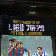 Álbum de fútbol completo: FASCIMIL LIGA 78-79 SALVAT ESTE PANINI. Lote 170955267