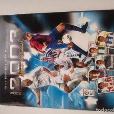 Álbum de fútbol completo: SUPER LIGA 2002-2003 PANINI. Lote 171024587