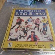 Album de football complet: MUNDICROMO 2002 ( INCLUYE 626 CARDS DIFERENTES ). Lote 171047285