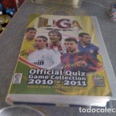 Álbum de fútbol completo: QUIZ GAME 2011 ( INCLUYE 663 CARDS DIFERENTES ) FALTAN SOLAMENTE 3 . Lote 171048964