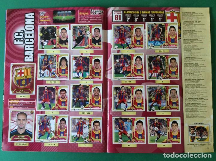 Álbum de fútbol completo: LIGA ESTE-ÁLBUM LUJO COMPLETO -2011-2012 ESTOS CROMOS ESTAN AGOTADO EN PANINI - Foto 4 - 171193403