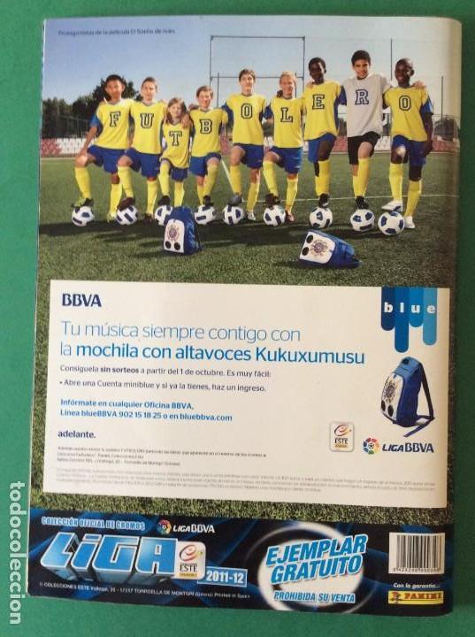 Álbum de fútbol completo: LIGA ESTE-ÁLBUM LUJO COMPLETO -2011-2012 ESTOS CROMOS ESTAN AGOTADO EN PANINI - Foto 28 - 171193403
