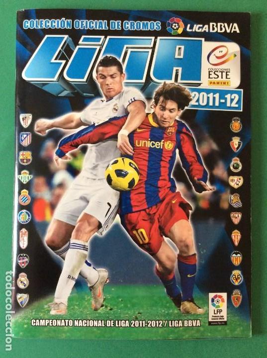 LIGA ESTE-ÁLBUM LUJO COMPLETO -2011-2012 ESTOS CROMOS ESTAN AGOTADO EN PANINI (Coleccionismo Deportivo - Álbumes y Cromos de Deportes - Álbumes de Fútbol Completos)