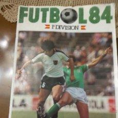Álbum de fútbol completo: ALBUM CROMOS CANO FUTBOL 84 COMPLETO. Lote 171203504