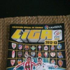 Álbum de fútbol completo: ALBUM COMPLETO ESTE 12 13 CON 527 CROMOS. Lote 171264619