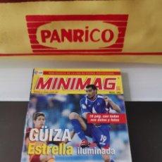 Álbum de fútbol completo: CROMO FÚTBOL MINI REVISTA MINIMAG 2007-2008 E-MAX LIGA 07-08 Nº 340 GÜIZA. Lote 171279925