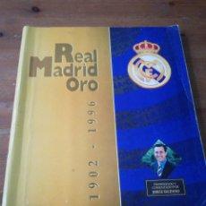 Álbum de fútbol completo: ÁLBUM DE CROMOS. REAL MADRID ORO. 1902-1996.. Lote 171305988