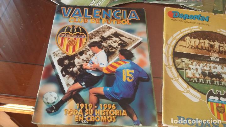 Álbum de fútbol completo: ALBUMES HISTORIA EN CROMOS - ALBUMES REAL MADRID, BARSA ,VALENCIA COMPLETOS- SUS INICIOS Y ... - Foto 4 - 171315430