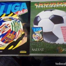 Álbum de fútbol completo: ALBUM CROMOS INOLVIDABLES FASCICULO PANINI SALVAT 1984-85. Lote 171615192