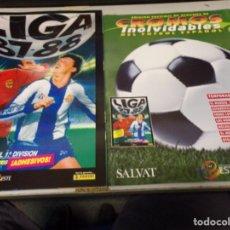 Álbum de fútbol completo: ALBUM CROMOS INOLVIDABLES FASCICULO PANINI SALVAT 1987-88. Lote 171622400