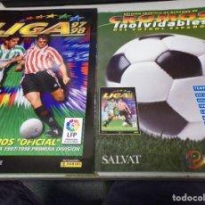 Álbum de fútbol completo: ALBUM CROMOS INOLVIDABLES FASCICULO PANINI SALVAT 1997-98. Lote 171625289