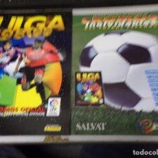 Álbum de fútbol completo: ALBUM CROMOS INOLVIDABLES FASCICULO PANINI SALVAT 1998-99. Lote 171625624