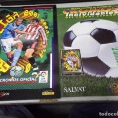 Álbum de fútbol completo: ALBUM CROMOS INOLVIDABLES FASCICULO PANINI SALVAT 2001-02. Lote 171626143