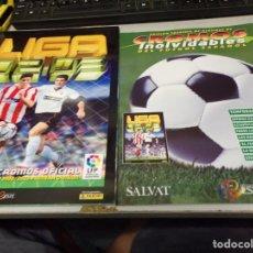 Álbum de fútbol completo: ALBUM CROMOS INOLVIDABLES FASCICULO PANINI SALVAT 2002-03. Lote 171626367