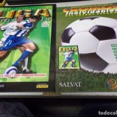 Álbum de fútbol completo: ALBUM CROMOS INOLVIDABLES FASCICULO PANINI SALVAT 2004-05. Lote 171627214