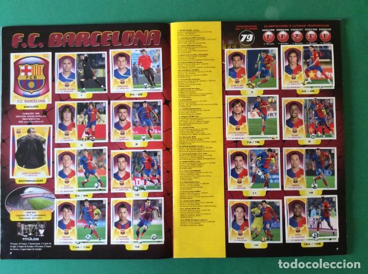 Álbum de fútbol completo: LIGA ESTE ÁLBUM LUJO 2009-2010- VER TODAS LAS FOTOS Y LEER DETALLES - Foto 5 - 171718193