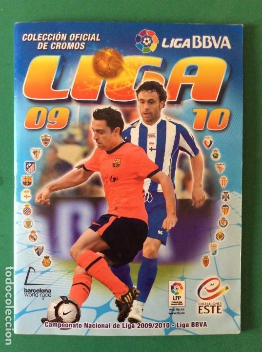 LIGA ESTE ÁLBUM LUJO 2009-2010- VER TODAS LAS FOTOS Y LEER DETALLES (Coleccionismo Deportivo - Álbumes y Cromos de Deportes - Álbumes de Fútbol Completos)