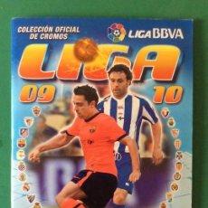 Álbum de fútbol completo: LIGA ESTE ÁLBUM LUJO 2009-2010- VER TODAS LAS FOTOS Y LEER DETALLES. Lote 171718193