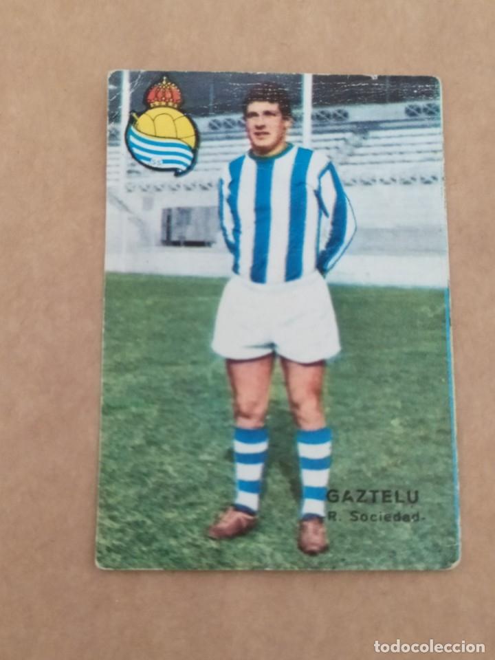 GAZTELU REAL SOCIEDAD DISGRA FHER 67 68 1967 1968 RECUPERADO (Coleccionismo Deportivo - Álbumes y Cromos de Deportes - Álbumes de Fútbol Completos)