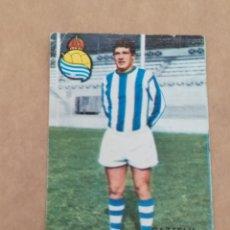 Álbum de fútbol completo: GAZTELU REAL SOCIEDAD DISGRA FHER 67 68 1967 1968 RECUPERADO. Lote 172183065