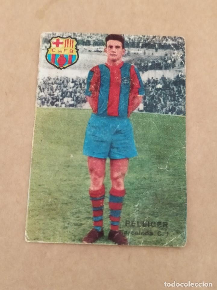 PELLICER BARCELONA DISGRA FHER 67 68 1967 1968 RECUPERADO (Coleccionismo Deportivo - Álbumes y Cromos de Deportes - Álbumes de Fútbol Completos)