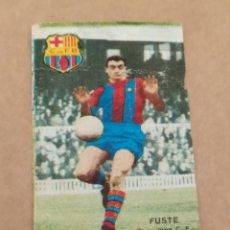 Álbum de fútbol completo: FUSTE BARCELONA DISGRA FHER 67 68 1967 1968 RECUPERADO. Lote 172183472
