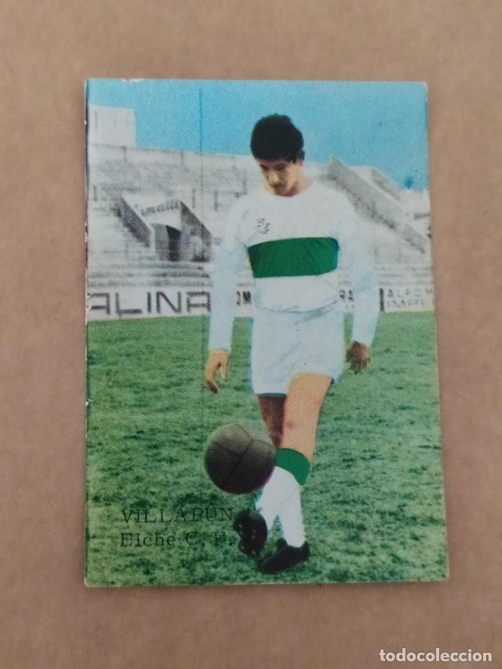 VILLAPUN ELCHE DISGRA FHER 67 68 1967 1968 RECUPERADO (Coleccionismo Deportivo - Álbumes y Cromos de Deportes - Álbumes de Fútbol Completos)