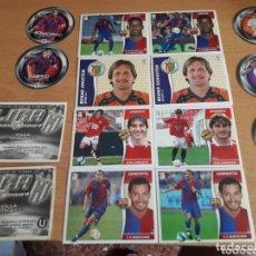 Álbum de fútbol completo: LIGA ESTE 06 07 COMPLETA SIN PEGAR + ALBUM PLANCHA Y MAS. Lote 172346357
