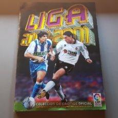Álbum de fútbol completo: ALBUM COMPLETO LIGA ESTE 00 01 2000 2001 CON INFINIDAD DE DOBLES, TODOS FICHAJES Y MUY BUEN ESTADO. Lote 172451935