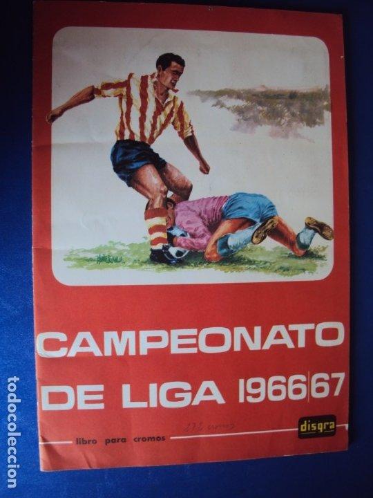 (AL-782)ALBUM CROMOS CAMPEONATO DE LIGA 1966/67 FUTBOL(COMPLETO)CONSERVACION DE LUJO (Coleccionismo Deportivo - Álbumes y Cromos de Deportes - Álbumes de Fútbol Completos)