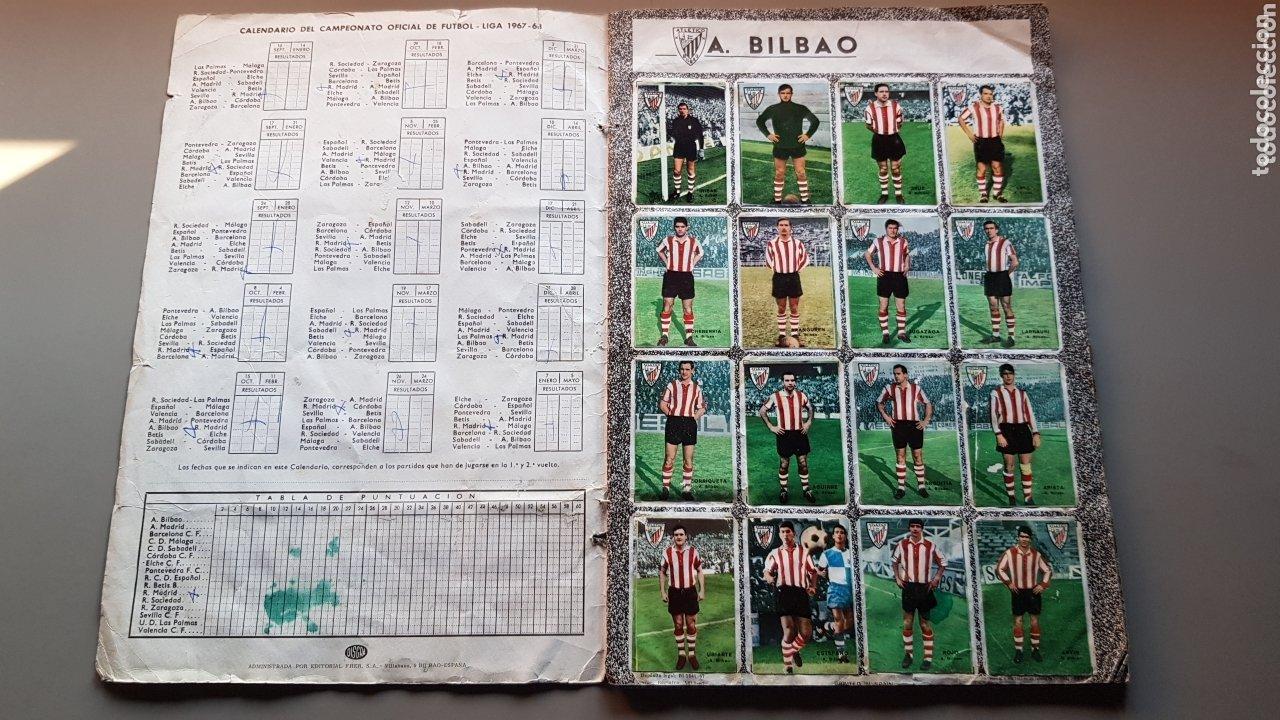 Álbum de fútbol completo: ALBUM COMPLETO FHER DISGRA 67 68 1967 1968 CON LOS 16 ESCUDOS - Foto 2 - 172868503