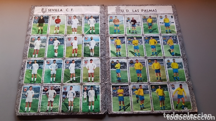 Álbum de fútbol completo: ALBUM COMPLETO FHER DISGRA 67 68 1967 1968 CON LOS 16 ESCUDOS - Foto 9 - 172868503