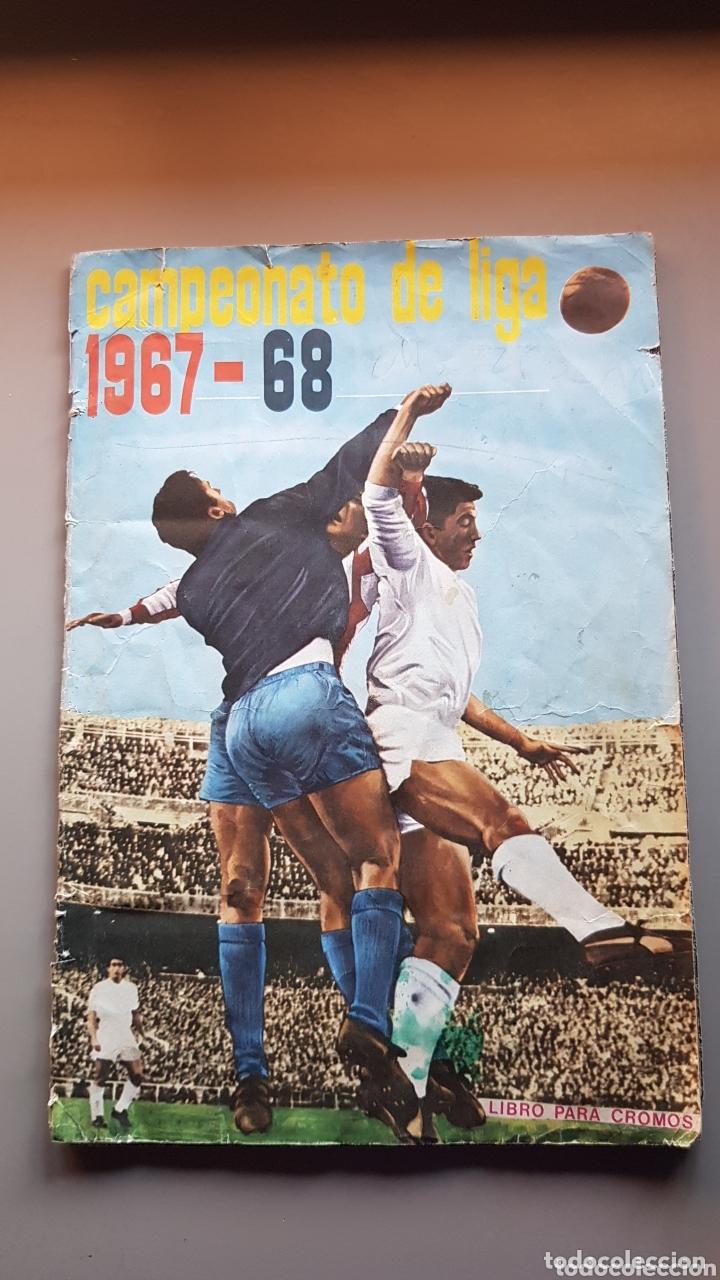 ALBUM COMPLETO FHER DISGRA 67 68 1967 1968 CON LOS 16 ESCUDOS (Coleccionismo Deportivo - Álbumes y Cromos de Deportes - Álbumes de Fútbol Completos)