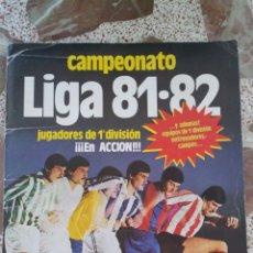 Álbum de fútbol completo: ALBUM ESTE 81 82 COMPLETO. Lote 172878043