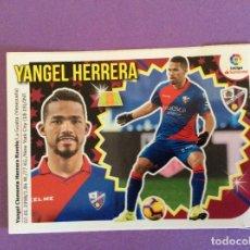 Álbum de fútbol completo: LIGA ESTE- 2018-2019- YANGEL HERRERA - HUESCA - MERCADO DE INVIERNO-CROMO- Nº18-LIGA SANTANDER. Lote 172970224