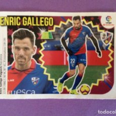 Álbum de fútbol completo: LIGA ESTE- 2018-2019- ENRIC GALLEGO- HUESCA - MERCADO DE INVIERNO-CROMO- Nº20-LIGA SANTANDER. Lote 172970234