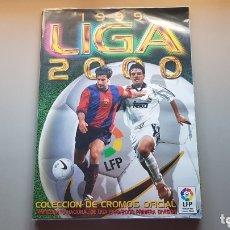 Álbum de fútbol completo: ALBUM COMPLETO LIGA ESTE 99 00 1999 2000 CON TODO LO EDITADO -36 INCLUYE JANDRO ALEX NAGORE Y BISES. Lote 172986637